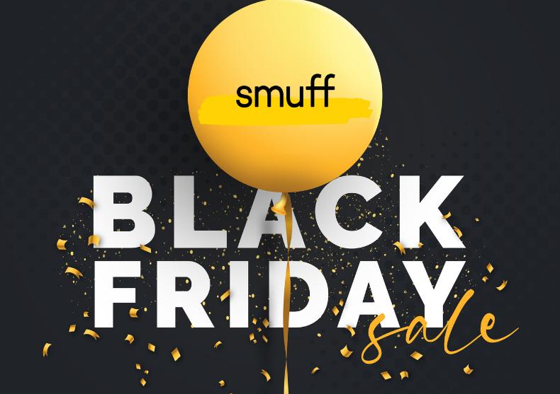 Cand este Black Friday 2021 la Smuff.ro?